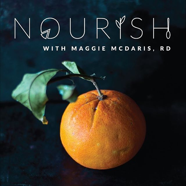 Hi friends! We've missed you 😊 ICYMI, Maggie launched her new podcast, @nourishpodcast this week 🍊! Make sure to head to maggiemcdaris.com/nourish or check it out on iTunes to hear her first 3 episodes!  xx