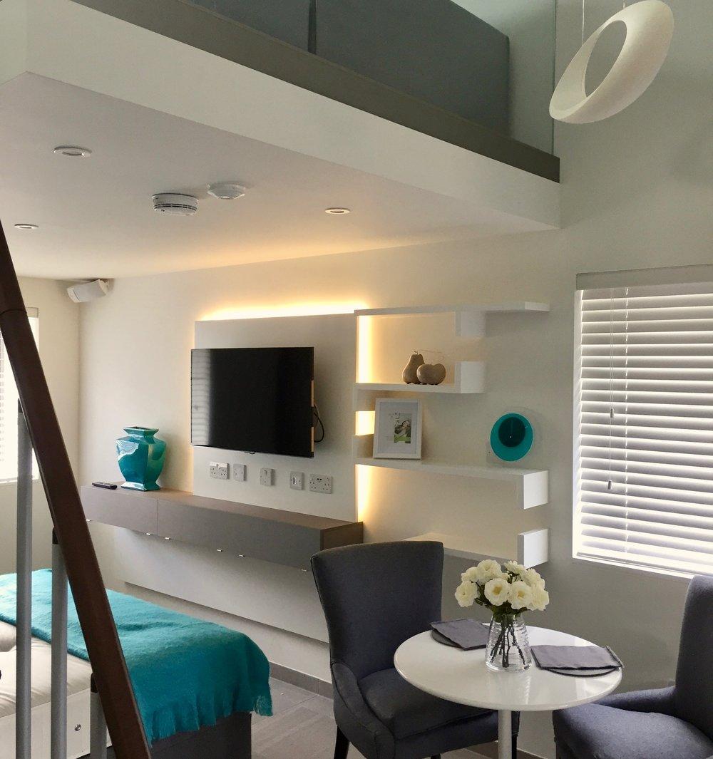 Development interior design case study