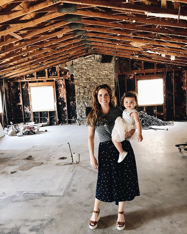 It's official, we bought an office building... and then promptly started ripping it apart!! 😱🎉 It's got a long way to go, but we can't wait to show you what's in store! Also, how cute is our intern Noah? #theholliscompany