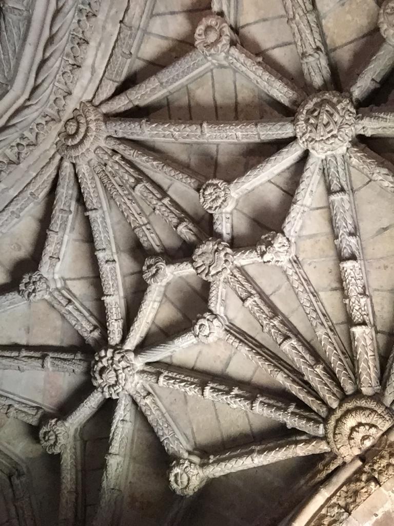 Teto do Mosteiro dos Jerônimos, Lisboa