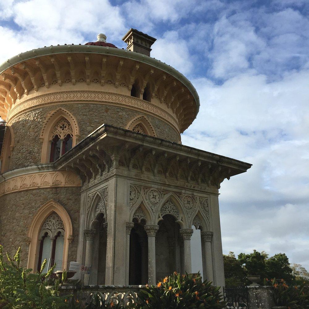 Palácio Monserrate, concluido em 1856, Sintra
