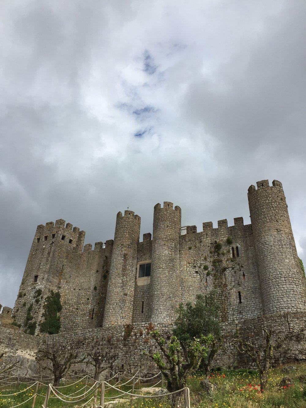 O Castelo de Óbidos,hoje, pertence a um grande grupo hoteleiro.