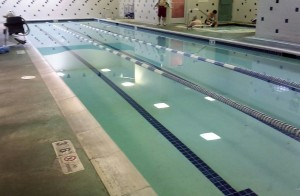 A pool all to myself is my favorite type of pool. Even one at 4,500 feet.