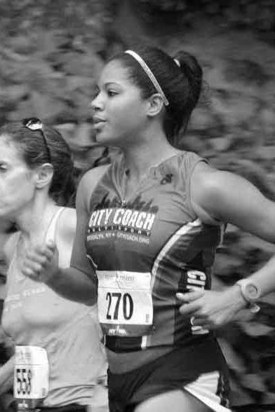 Running Coach Cipriana Cuevas
