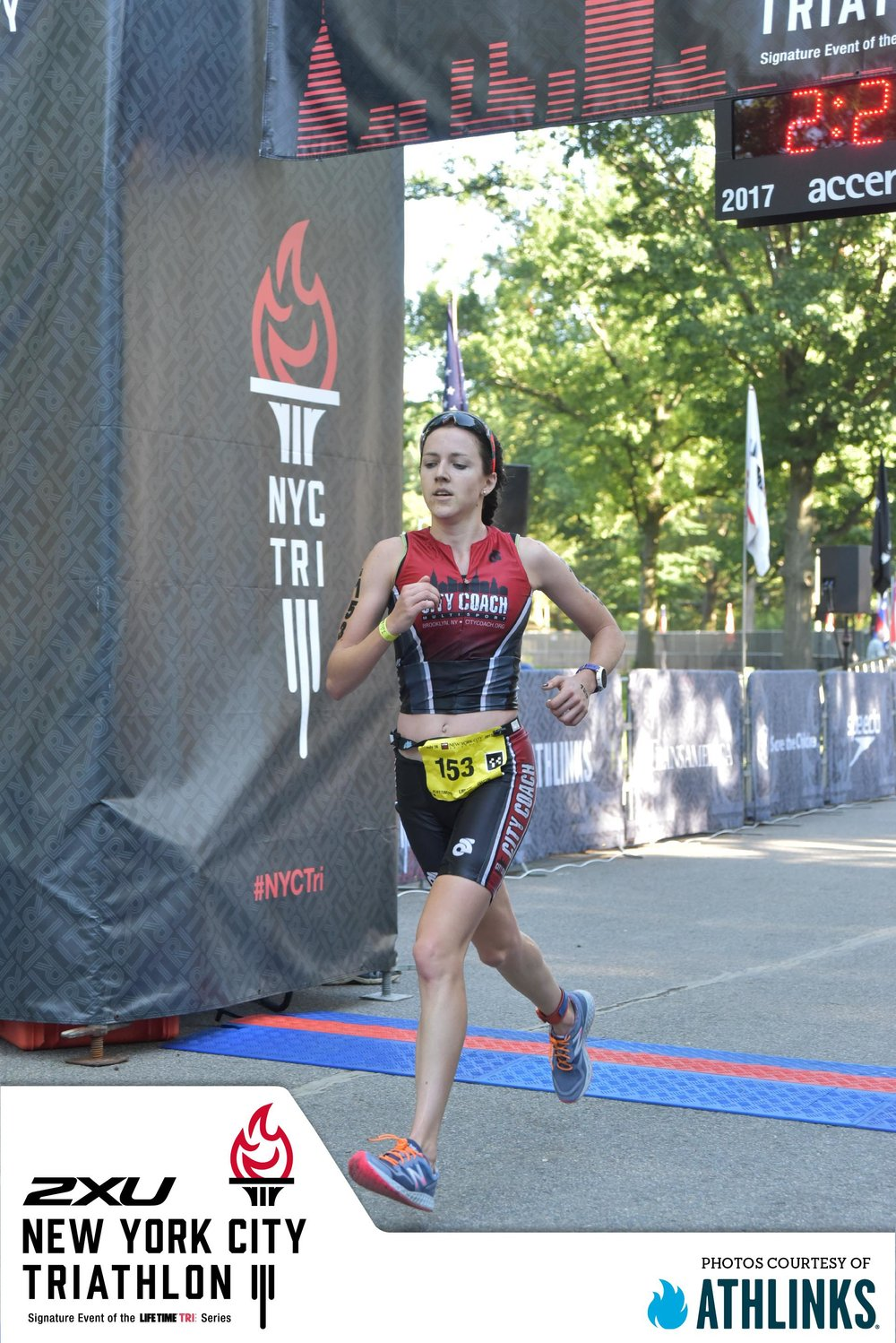 Not a clue if I won #NYCTri