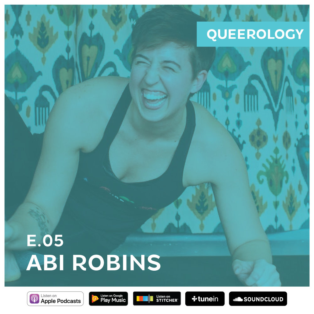 Abi on Queerology! - Abi is incredibly proud to have been interviewed by Matthias Roberts on his engaging new podcast, Queerology.  Click here to listen and learn more about the awesome work Matthias is doing.