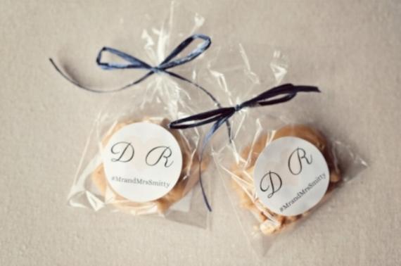 Pecan praline wedding favors by Savannah Candy Kitchen