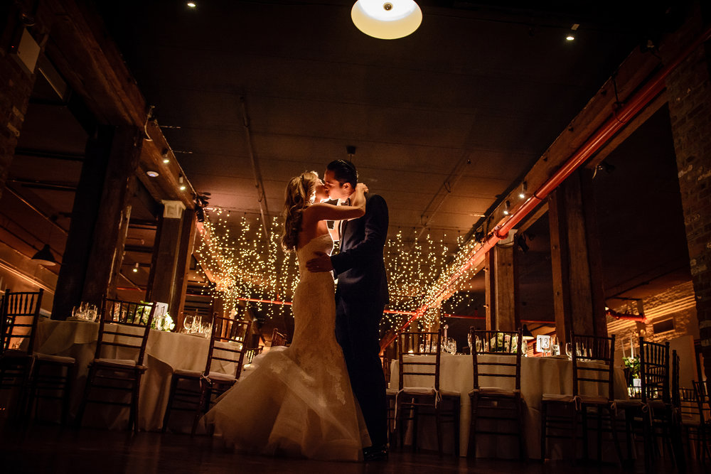 Wedding Ceremony & Reception: T he Liberty Warehouse  in Brooklyn, New York