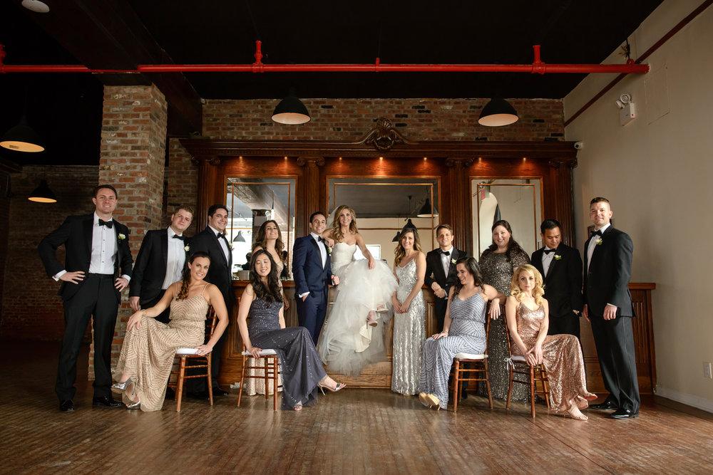 Bridal Party Attire:  Adrianna Papell ,  Jenny Yoo , Donna Morgan and  Hugo Boss