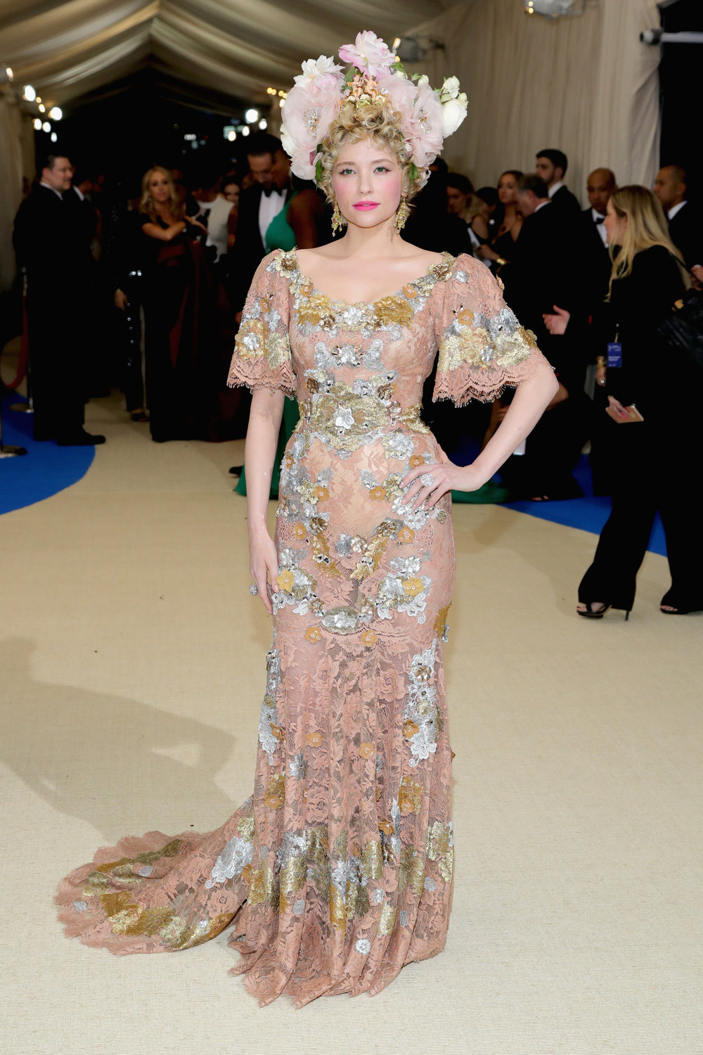Haley Bennett in Dolce & Gabbana