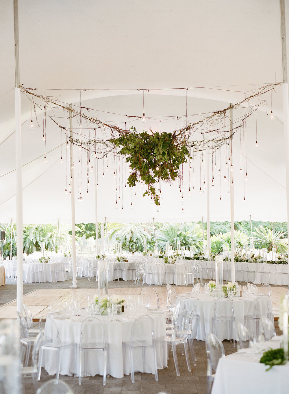 Garden Wedding Reception in Miami