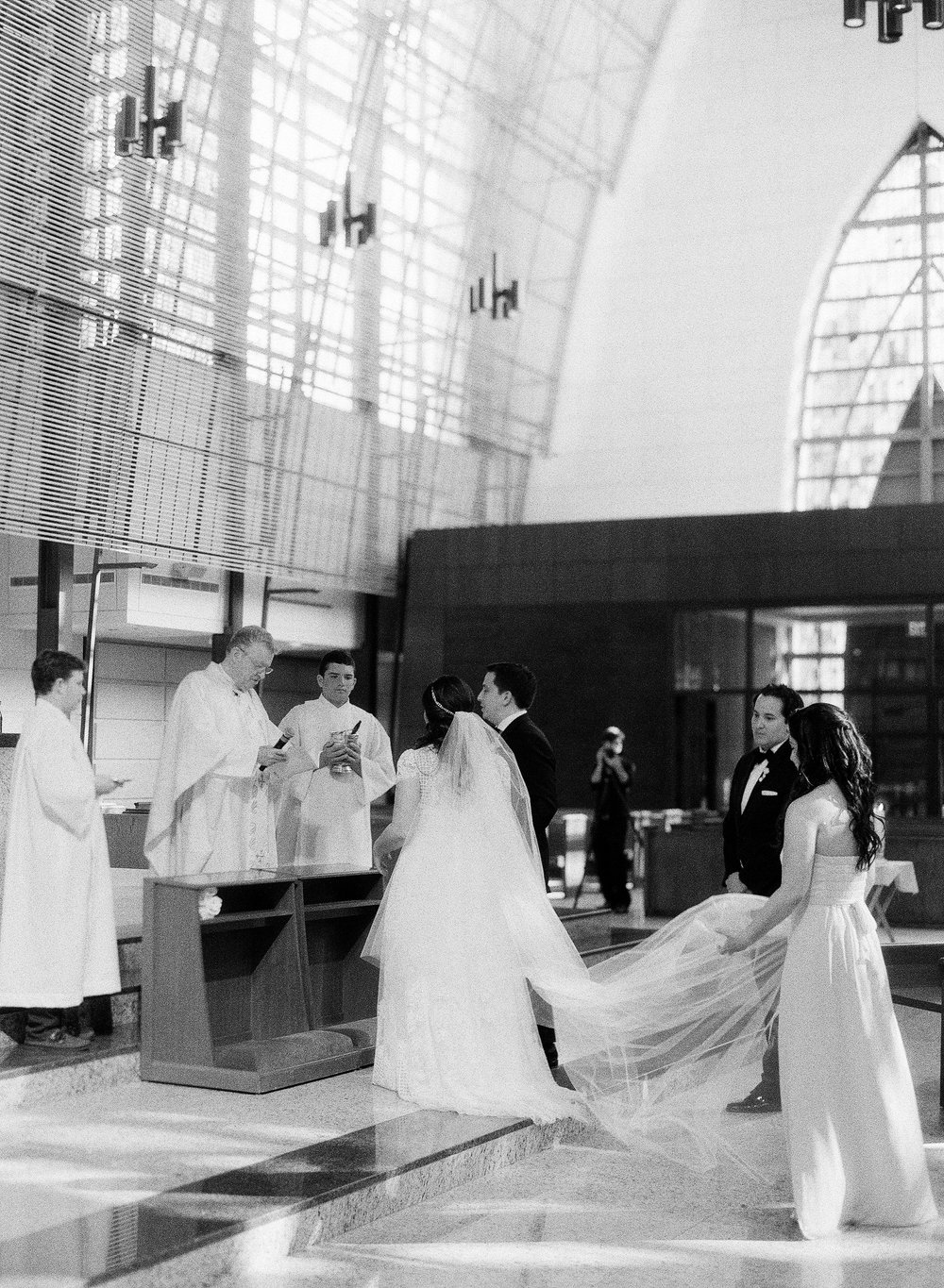 Traditional Wedding at Miami Catholic Church