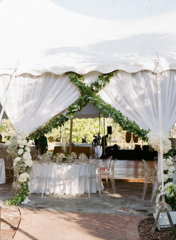Tented Wedding in Miami, Florida