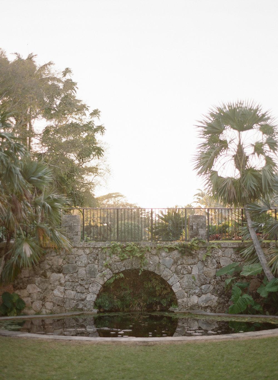 Garden Wedding Reception in Miami
