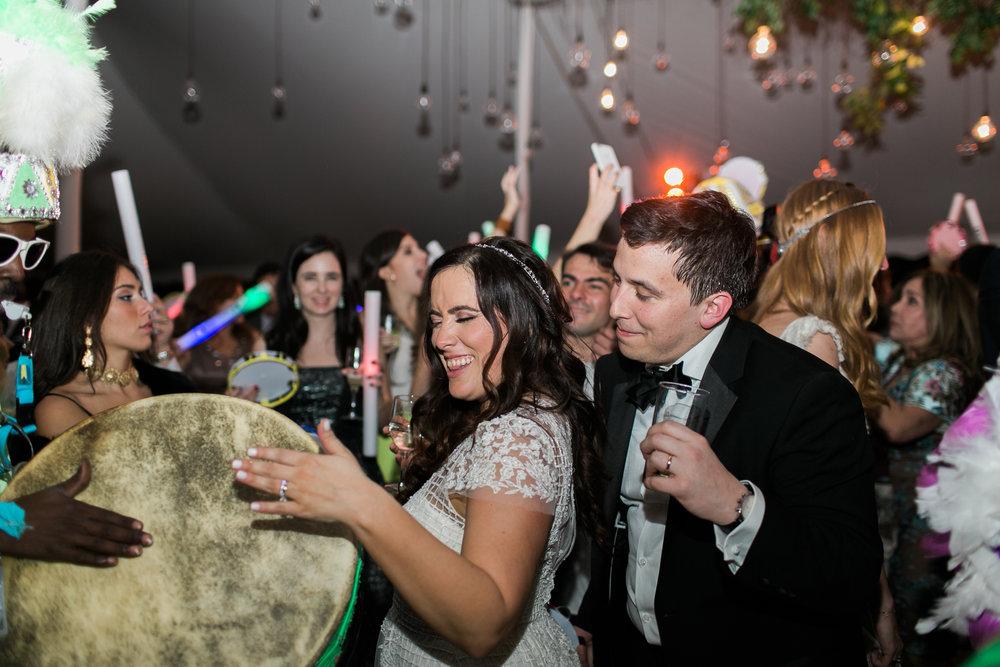 Tropical Wedding Reception in Miami, Florida