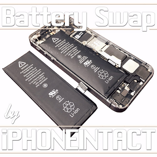 Old-dying-phone-battery-after-iPhoneIntact-iPhone-bad-battery-replacement-service
