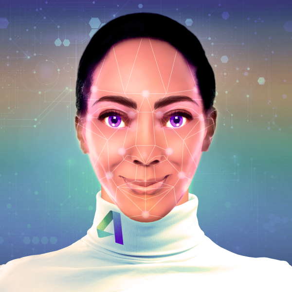Above: The original version of Ava prior to Soul Machines' involvement in the project.   Image credit: Autodesk