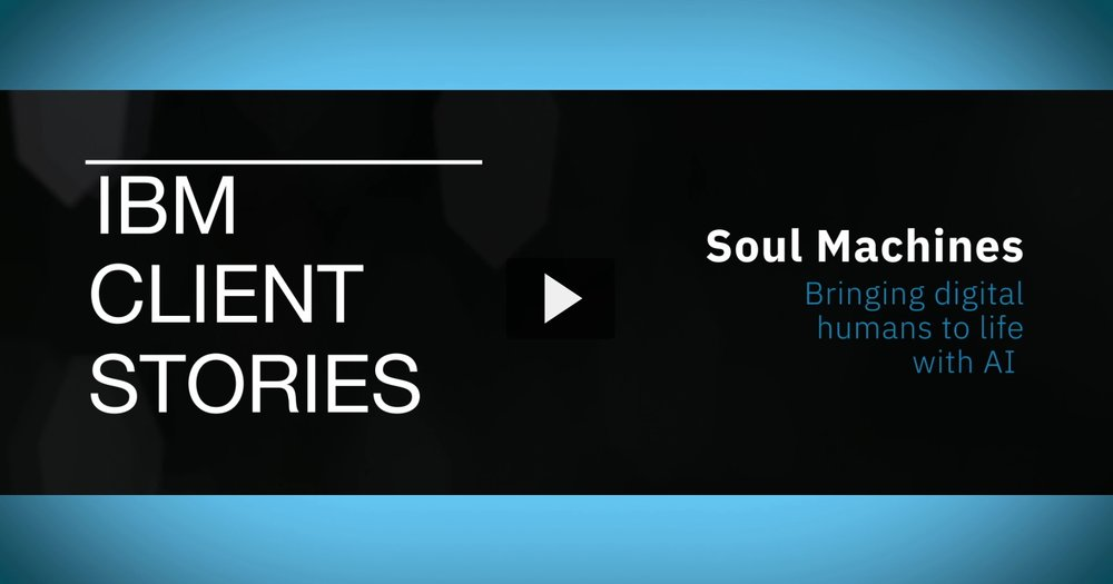"""""""We've got a whole technology stack of our own which we call our Human Computing Engine, and that's, if you like, the user interface or the user experience level for an AI platform.""""  Explains Greg Cross, Chief Business Officer, Soul Machines."""