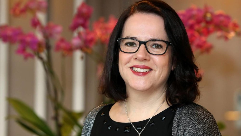 ANZ Head of digital and transformation Liz Maguire says artificial intelligence will eventually be carrying out banking tasks for customers