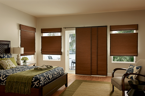 Natural Shades & Sliding Panels