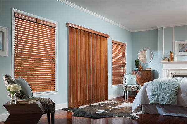 Horizontal & Vertical Wood Blinds