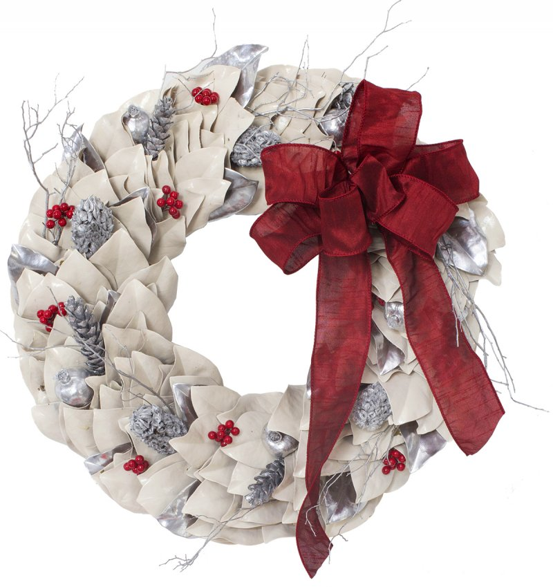 Cream Lacquer Wreath
