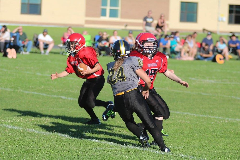 Junior Girls Tackle Football