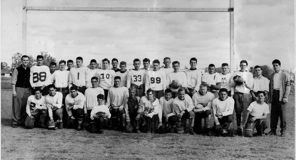 St Vital Mustangs circa early 1950s
