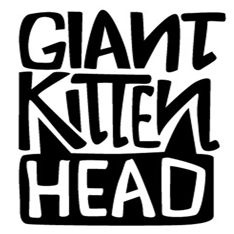 GIANT KITTEN HEAD