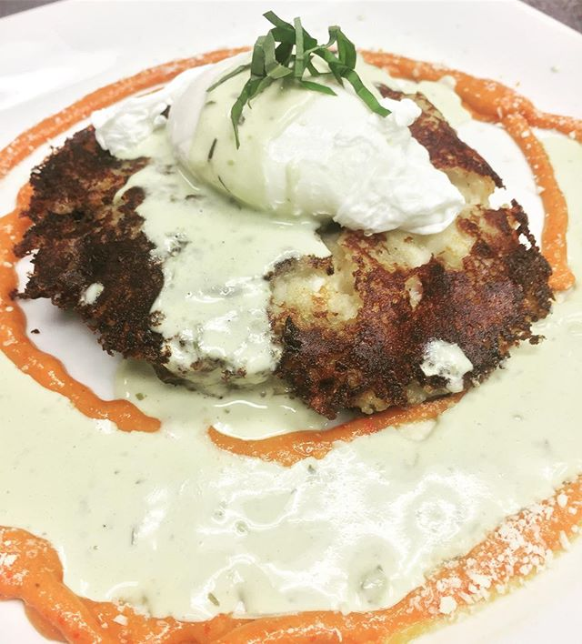 Today's special: Potato cake with poached egg bomba sauce and tarragon cream!! #vcgourmet #instagood #inlandempire #easthighland #redlands #highlandca #iefoodie #inlandempireexplorer #forkreport #chefmode #ForTheChefs #chefsofinstagram #chefsoninstagram #LAchefs #lafoodies #cheflife #eaterla #latimesfood #zagat #EatMunchies #spoonfeed #foodbeast #thisisinsider #insiderfood #eatfamous #buzzfeast #visitcalifornia #mychefstable