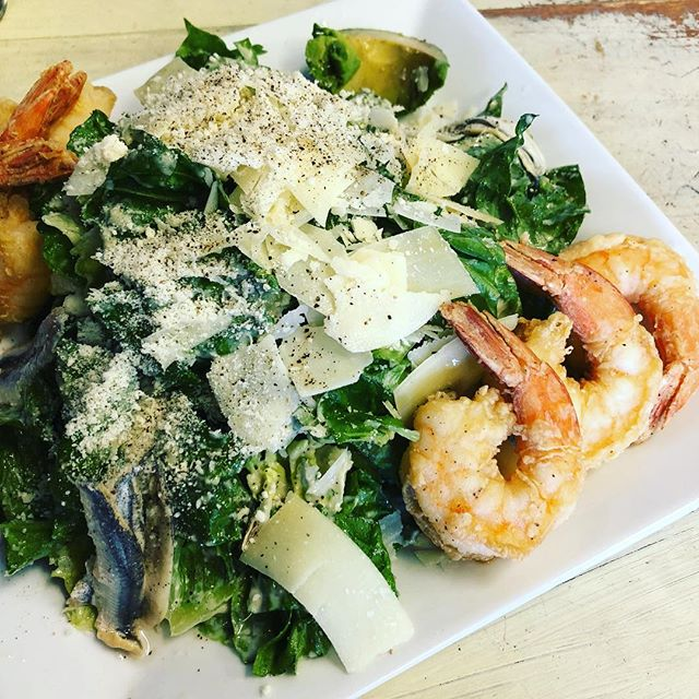 Caesar Salad with shrimp! Dinner is served.  #vcgourmet #instagood #inlandempire #easthighland #redlands #highlandca #iefoodie #inlandempireexplorer #forkreport #chefmode #ForTheChefs #chefsofinstagram #chefsoninstagram #LAchefs #lafoodies #cheflife #eaterla #latimesfood #zagat #EatMunchies #spoonfeed #foodbeast #thisisinsider #insiderfood #eatfamous #buzzfeast #visitcalifornia #mychefstable