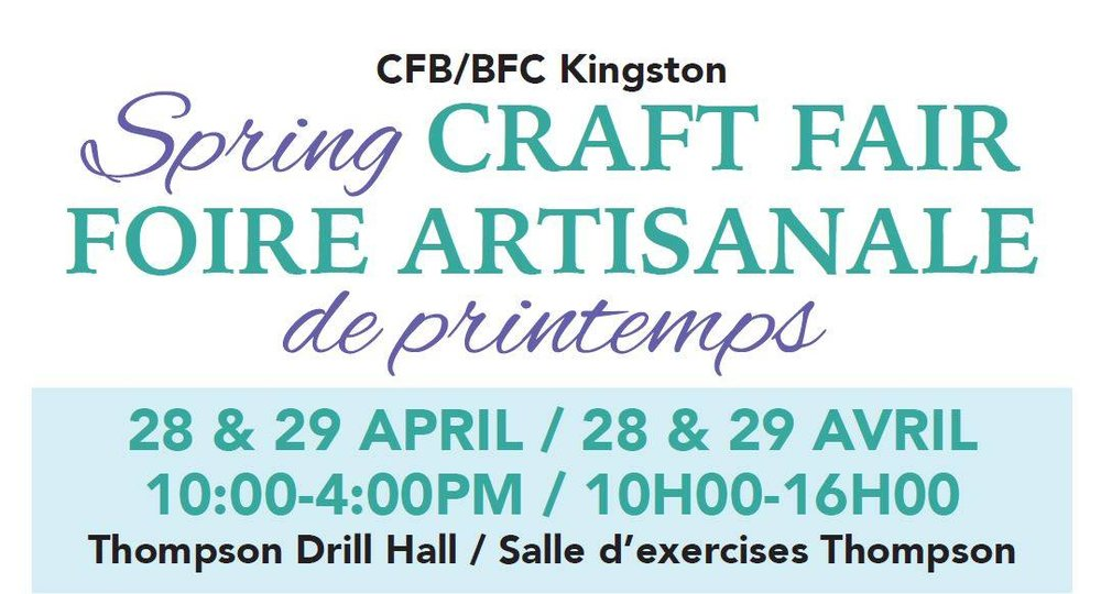 cfb kingston craft fair