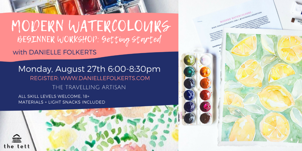 watercolour classes kingston ontario