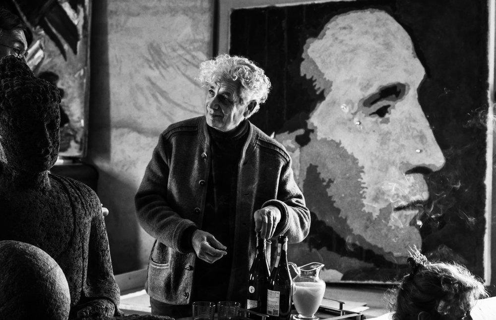 Fabrizio Ruggiero and Duchamp.