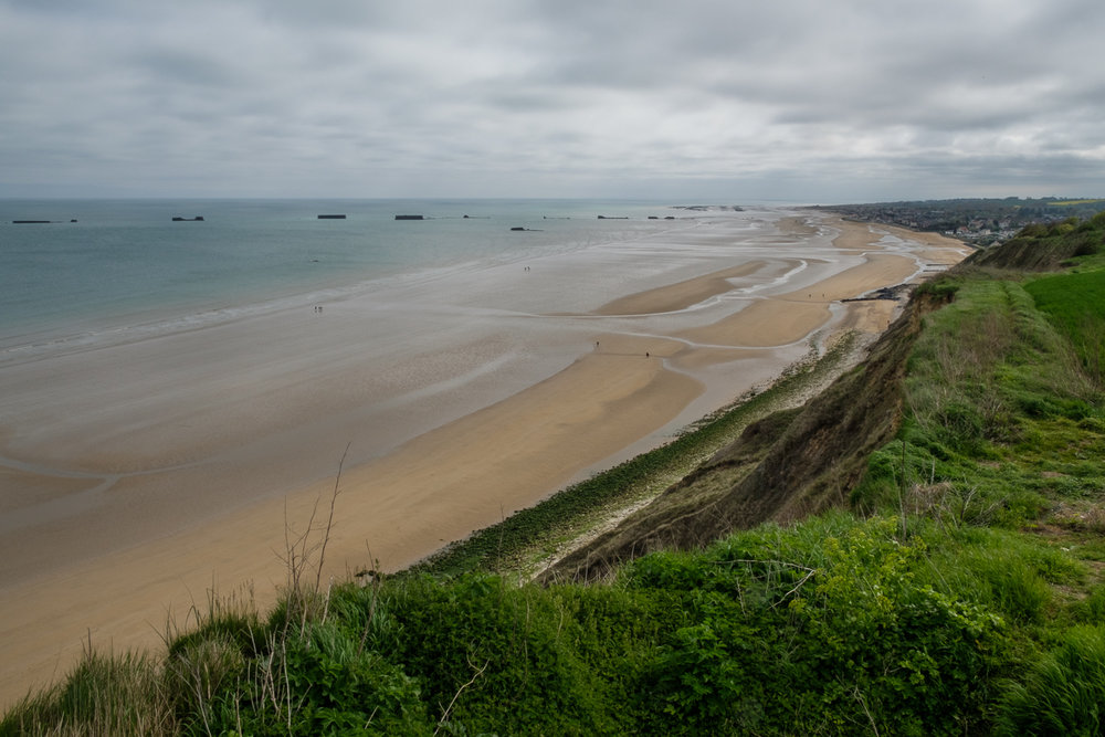 All along the northwest coast of Normandy are testaments to the Day of Days, including the remnants of the artificial ports.
