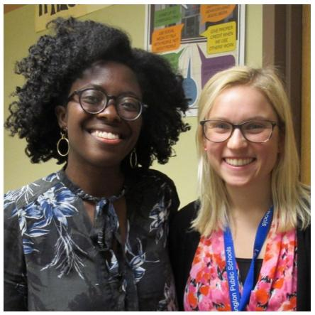 Lexington High School    hosted Yaa Gyasi, award-winning author of Homegoing, to talk with the entire sophomore class who read her novel, and to present a community-wide discussion on cultural inheritance. LHS also hosted Mike Smith, who inspired students and educators to find their passion using communication and resiliency skills.