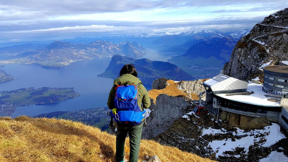 Atop Mt. Pilatus, Lucern, Switzerland