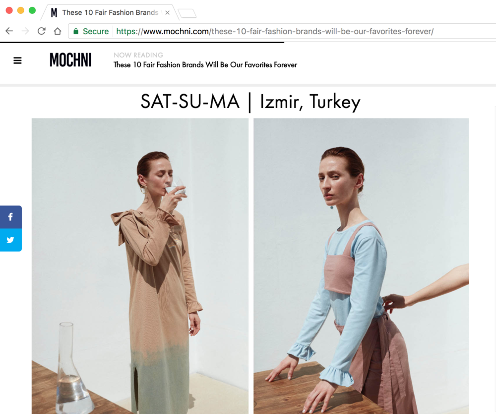 Mochni Magazine has featured sat-su-ma as one of their favourite fair fashion brands.   Read the whole article  here .