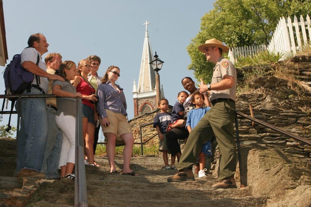 Harpers Ferry National Historical Park, WV via NPS