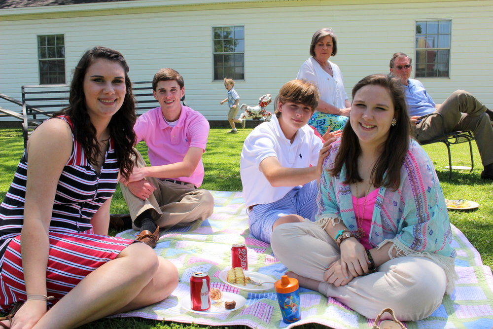 Spring Picnic on the Lawn at St. Stephen's