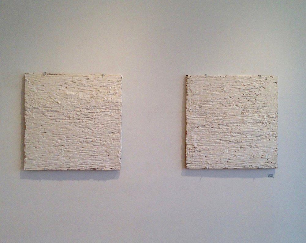 """Concrete, Plaster  24""""x24"""" Pair"""