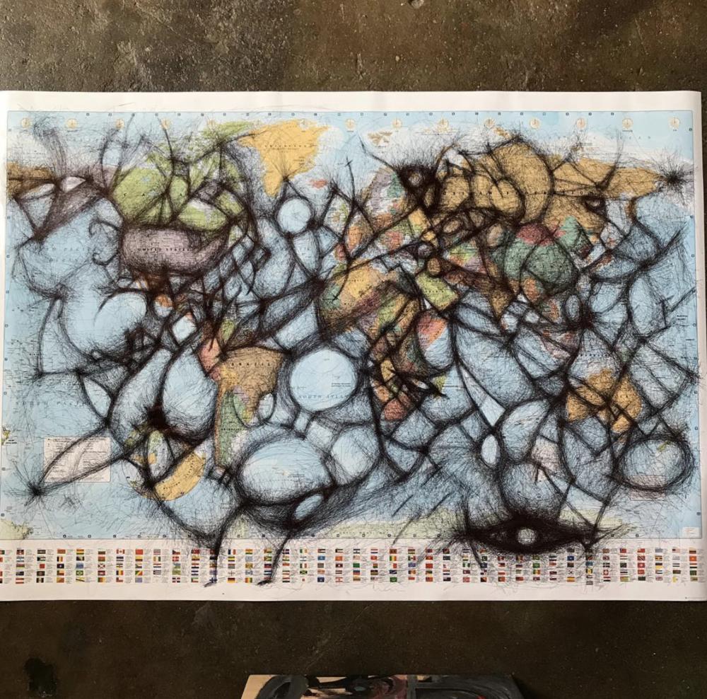 Untitled (World Map)