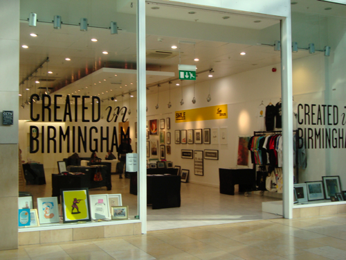 Created in Birmingham Shop
