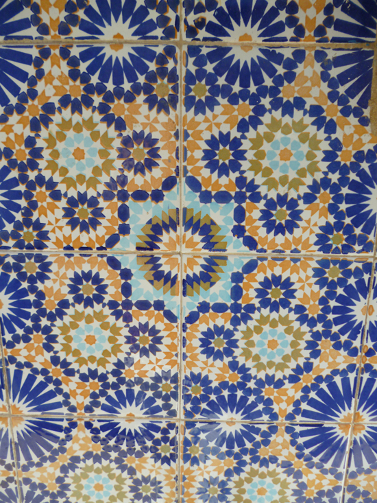 Essaouira tile patterns