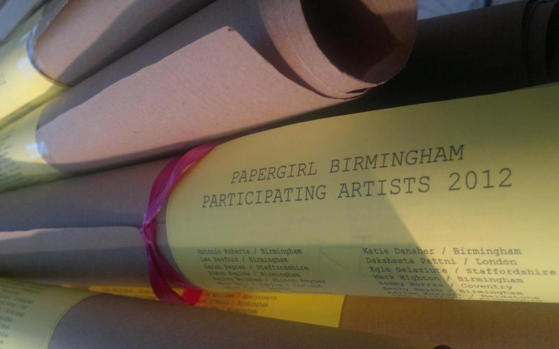 Papergirl Birmingham Scrolls