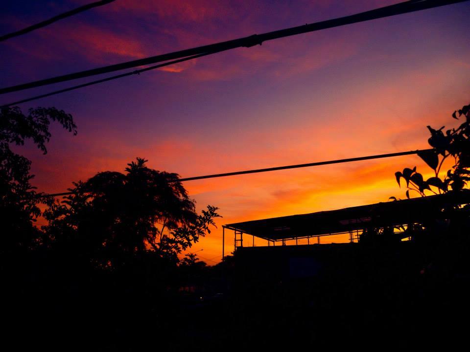 Piura sunset