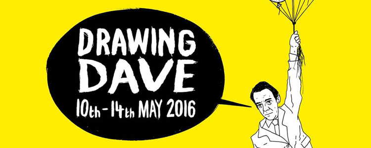 Drawing Dave Exhibition Birmingham
