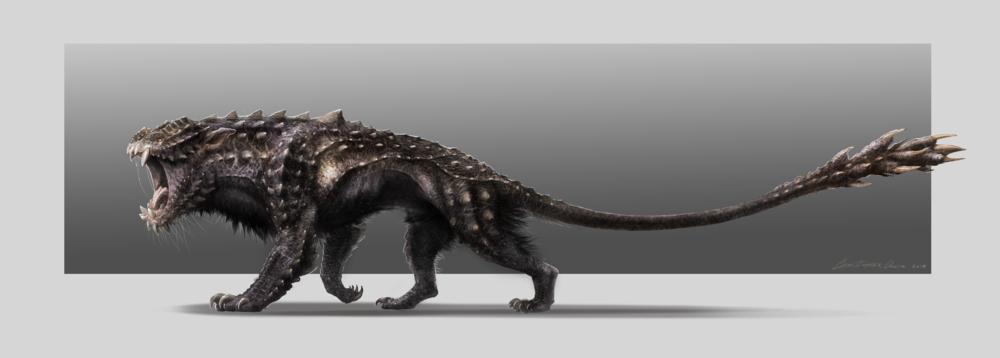 creature look development dheeraj varandani