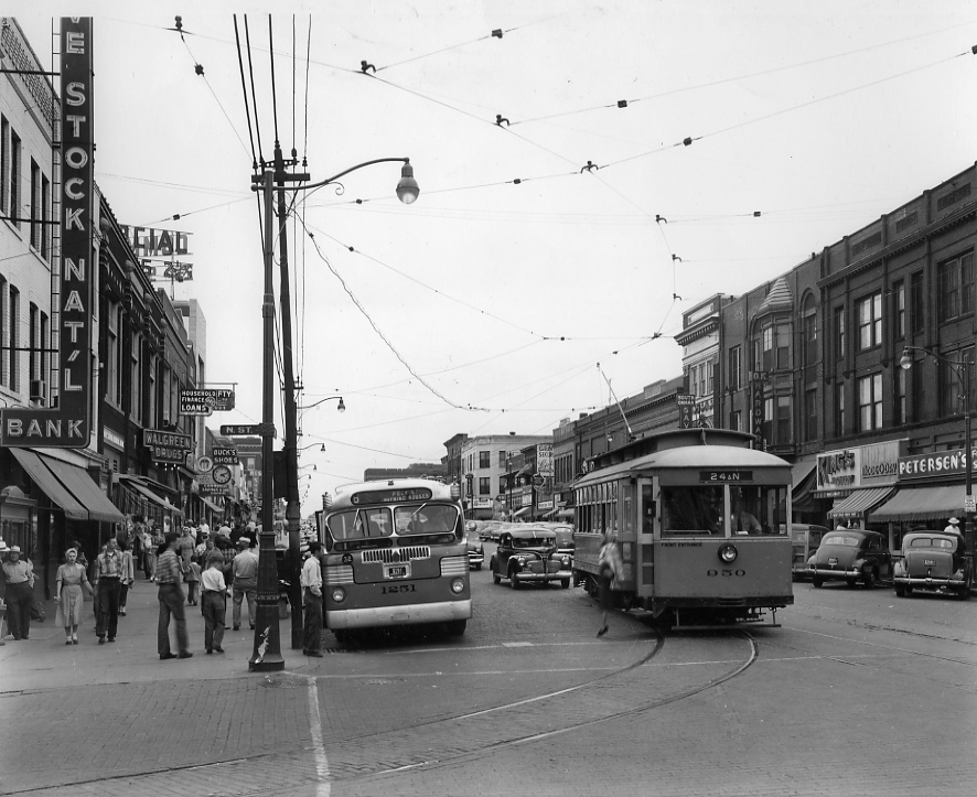 See South 24th St in its Heyday