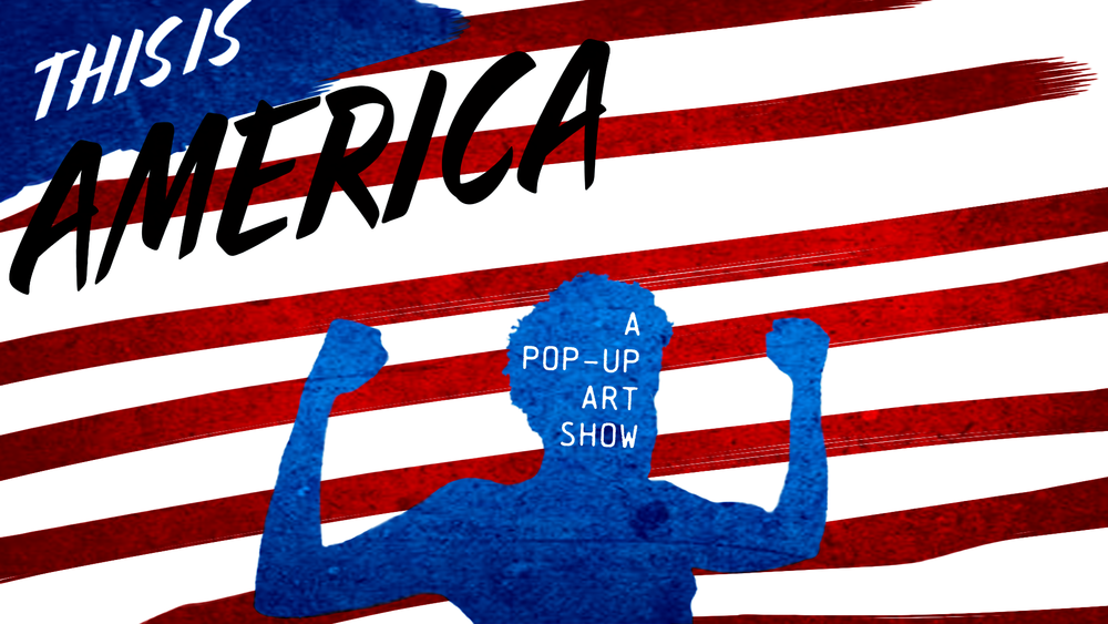 """THIS IS AMERICA POP UP ART SHOW - SeeDakota LLC. and BrightRing Foundation have come together to present """"This is America, A Pop-Up Art Show"""". We are bringing together artists of all genres, and disciplines to showcase their art and bring awareness to current societal injustices in America. We hope to provide a both entertaining and relevant platform for artists to let their voices and art be heard.Alongside a variety of art and musical performance; show goers can grab a drink at our cash bar and free appetizers from our master chef. Additionally there will be an interactive art piece that every showgoer will get to participate in. Although we want everyone to enjoy our showcase the event is only 21+. Doors Open at 8pm. $10 online $15 at the door. All proceeds go to furthering exposure for local and underrepresented artists of all kinds through BrightRing, a non-profit organization."""